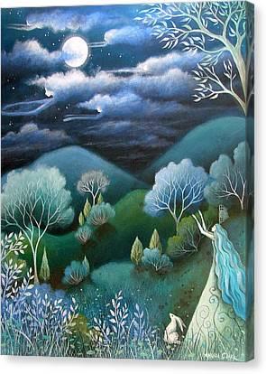 Sky Of Angels Canvas Print by Amanda Clark