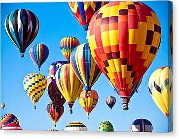 Sky Of Color Canvas Print by Shane Kelly