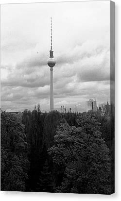 Sky Over Berlin Canvas Print by Steve K
