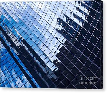 Reflections Canvas Print by Ernest Puglisi