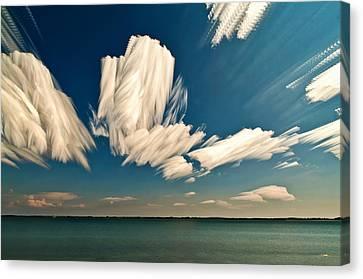 Sky Sculptures Canvas Print