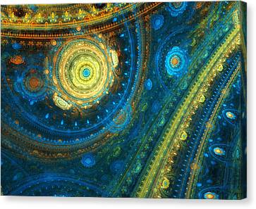 Sky Sphere Canvas Print