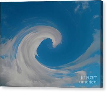 Sky Surfing Canvas Print by Drew Shourd
