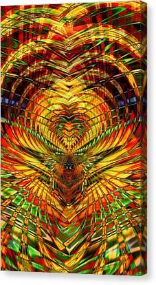 Sky Tunnel Canvas Print by Kiki Art