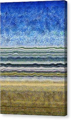 Sky Water Earth 2 Canvas Print by Michelle Calkins