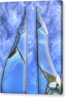 Skycicle Canvas Print