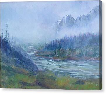 Skykomish Sunrise Canvas Print