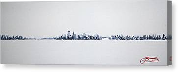 Skyline 10x30-2 Canvas Print