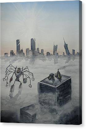 Skyline Canvas Print by Amanda Ellis