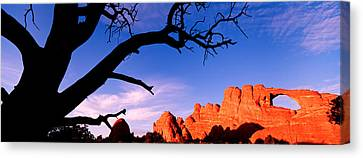 Skyline Arch, Arches National Park Canvas Print
