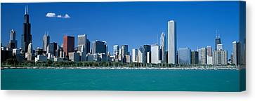 Skyline Chicago Il Usa Canvas Print by Panoramic Images