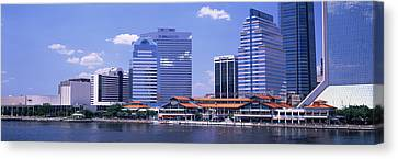 Skyline Jacksonville Fl Usa Canvas Print by Panoramic Images