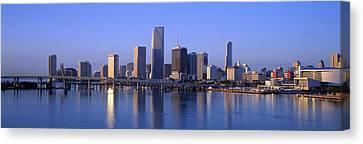 Skyline Miami Fl Usa Canvas Print