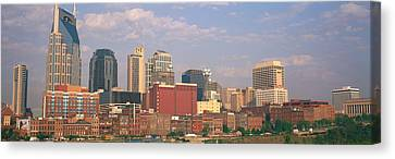 Downtown Nashville Canvas Print - Skyline Nashville Tn by Panoramic Images
