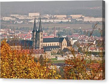 Skyline Of Bamberg, Germany Canvas Print by Michael Defreitas