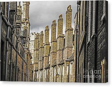 Skyline Of Cambridge Canvas Print