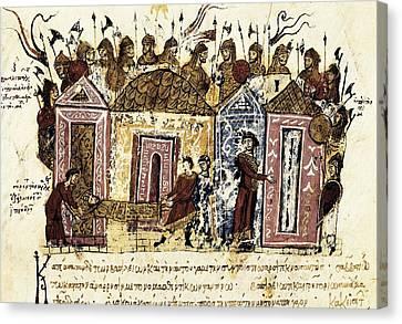 Skylitzer, John 9th Century. Madrid Canvas Print