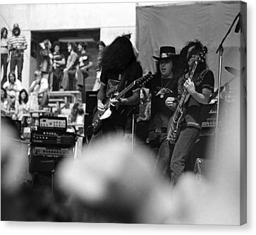 Skynyrd #1 Canvas Print by Ben Upham