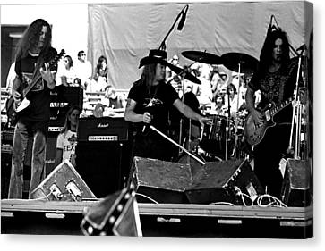 Skynyrd #23 Crop 1 Canvas Print by Ben Upham