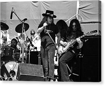 Skynyrd #26 Crop 1 Canvas Print by Ben Upham