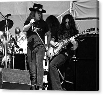 Skynyrd #26 Crop 2 Canvas Print by Ben Upham