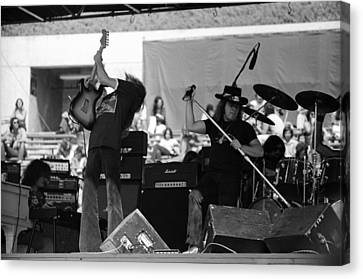 Skynyrd #4 Full Frame Canvas Print by Ben Upham