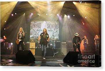 Skynyrd-group-7063 Canvas Print by Gary Gingrich Galleries