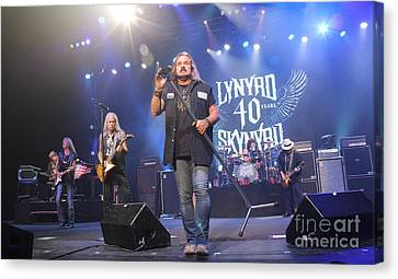 Skynyrd-group-7309 Canvas Print by Gary Gingrich Galleries