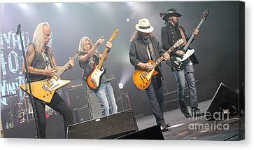 Skynyrd-group-7672 Canvas Print by Gary Gingrich Galleries