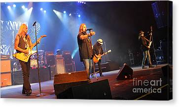 Skynyrd-group-7745 Canvas Print by Gary Gingrich Galleries