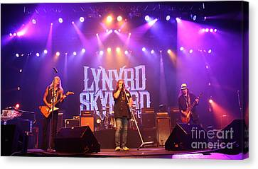 Skynyrd-group-7820 Canvas Print by Gary Gingrich Galleries