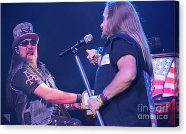 Skynyrd-pete-7579 Canvas Print by Gary Gingrich Galleries