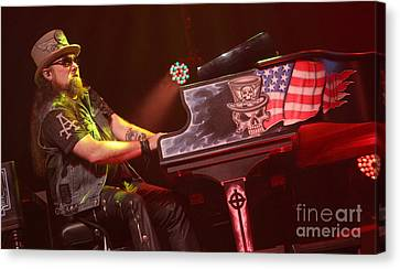 Skynyrd-pete-7592 Canvas Print by Gary Gingrich Galleries