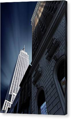 Skyscraper Canvas Print by Sebastien Del Grosso