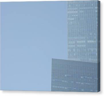Skyscraper Canvas Print by Stuart Hicks
