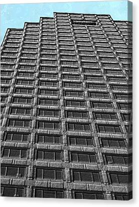 Skyscraper Variation 1 Canvas Print by Bruce Nutting