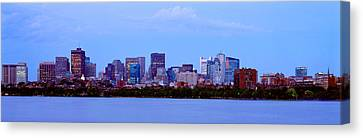 Skyscrapers At The Waterfront, Charles Canvas Print by Panoramic Images