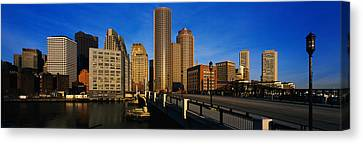 Boston Bridges Canvas Print - Skyscrapers In A City, Boston by Panoramic Images