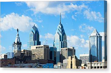 Skyscrapers In A City, Liberty Place Canvas Print by Panoramic Images