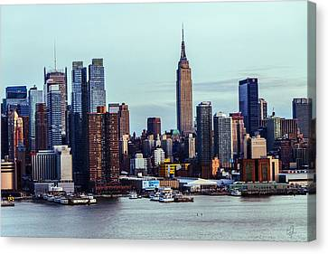 Skyscrapers Canvas Print by Music of the Heart