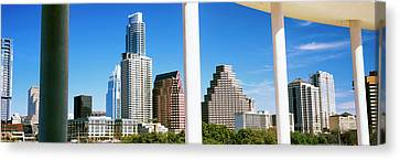Skyscrapers Viewed From The Long Center Canvas Print