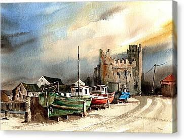 Wexford  Slade Castle Canvas Print