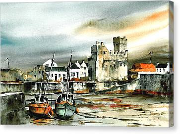 Slade Harbour Wexford Canvas Print