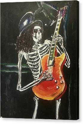 Slash Canvas Print by Marisa Belculfine