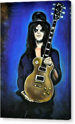 Slash Canvas Print by Ruben Barbosa