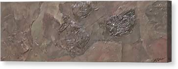 Slate Slab Canvas Print by Jim Ellis