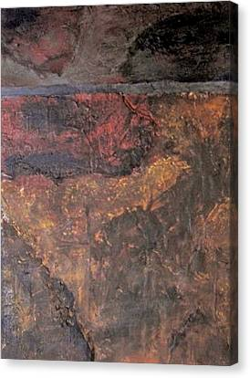 Three Sizes Of Tile Canvas Print - Tile No. 1 by Jim Ellis