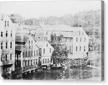 Slater Cotton Mill Canvas Print
