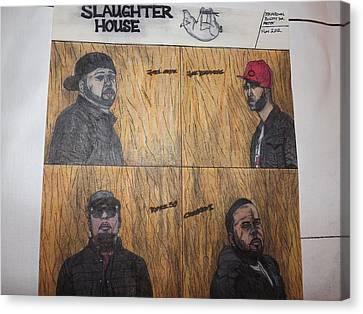 Slaughterhouse Canvas Print by Brandon Crawford