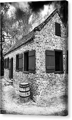 Slave House Canvas Print by John Rizzuto